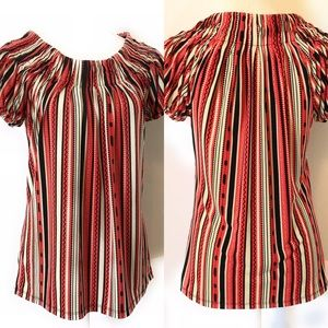 Style & co Striped, multicolored Top, Sz Small